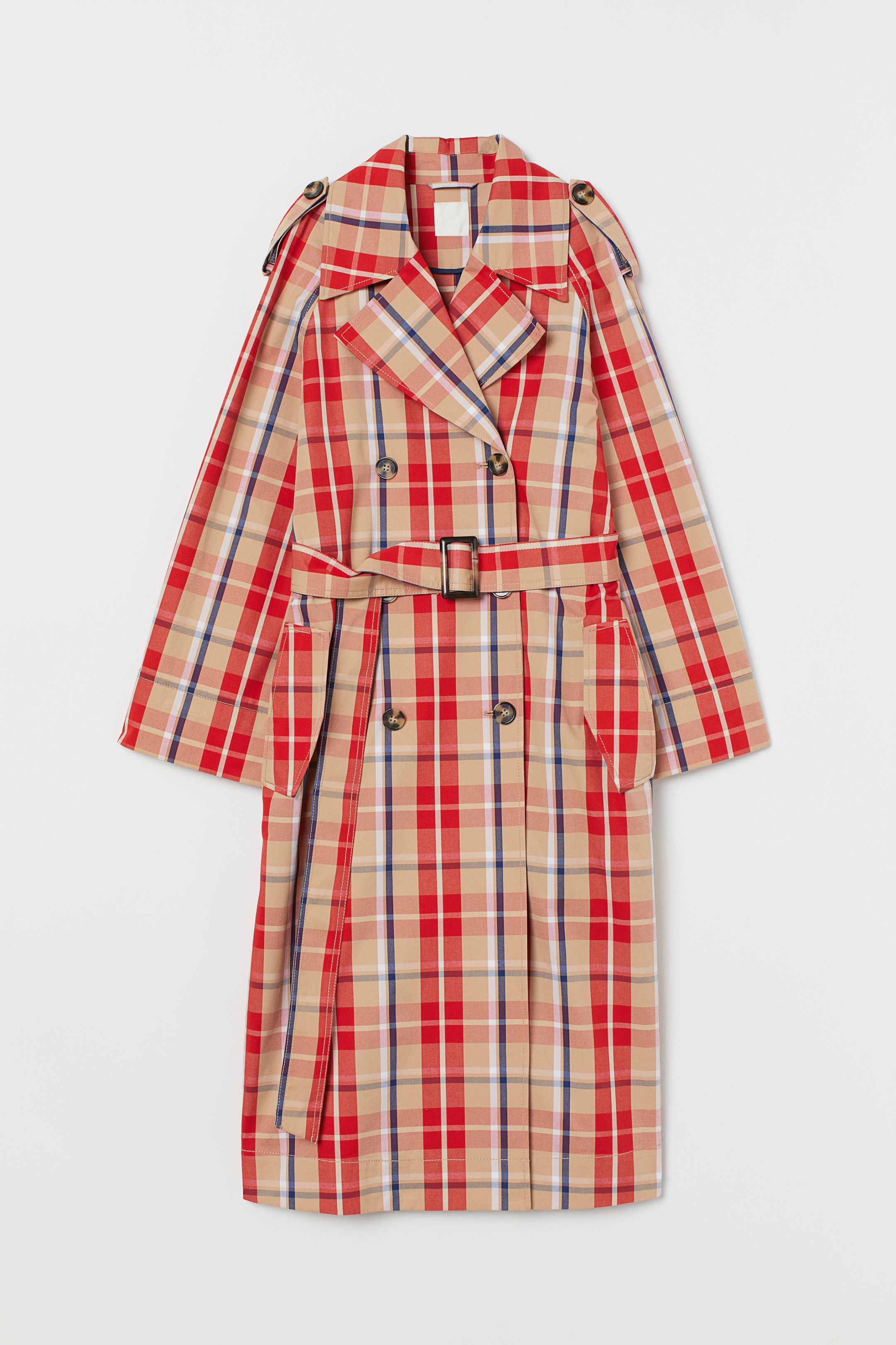 checker coat